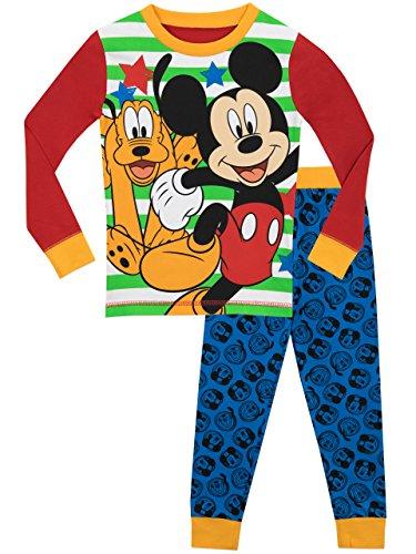 Disney Boys' Mickey Mouse and Pluto Pajamas Size 5 ()