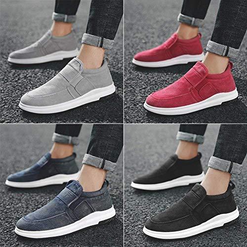 44 Chaussures Tout La Oudan Et Noir De Rouge Sport Respirantes aller Mode coloré Taille Confortables À fdxg6qgA