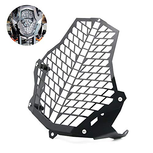 JOYON Motorcycle Front Headlight Headlamp Grille Guard Cover Protector Modification for KTM 1290 1190 R Super Adventure (Headlight Guard Motorcycle)