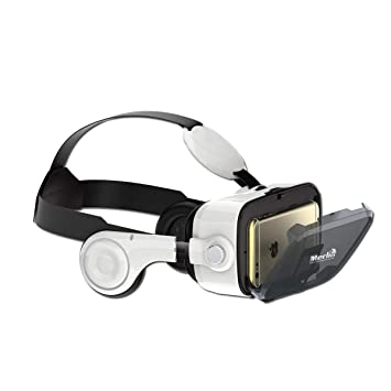 a28ceafa3 Merlin Immersive 3D Gaming Edition Virtual Reality Headset: Amazon.ae