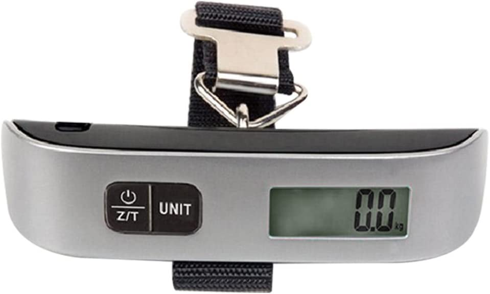 Yosoan Portable Hanging Digital Electronic Scale Travel Luggage Bag Suitcase Weighing
