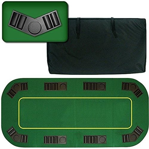 Trademark Poker 8 Player Positions 80'' Deluxe Texas Hold'em by Trademark Poker