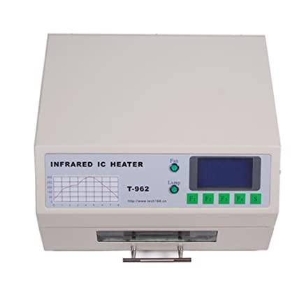 Sanven T962 automática Horno de reflujo de infrarrojos 800W Ic Calentador Smd Bga 180 × 235mm