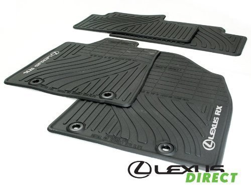 Lexus 2010 - 2012 RX350 RX450h All-Weather Floor Mats