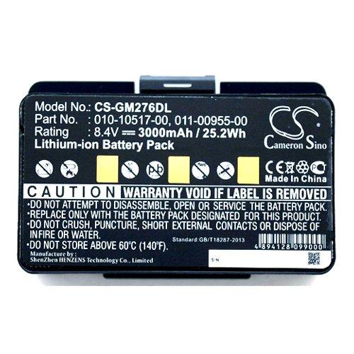Simply Silver - New 3000mAh Battery for Garmin GPSMAP 276 276C 296 376 376C 378 396 478 495 496