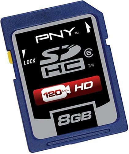 Amazon.com: PNY p-sdhc4g6-dvdc Clase 6 Tarjeta Secure ...