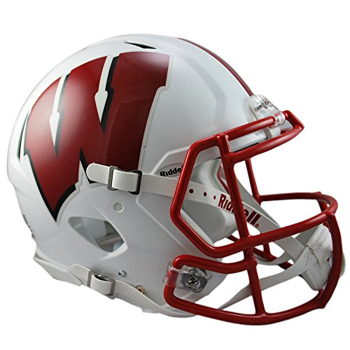 Wisconsin Badgers Officially Licensed Revolution Speed Authentic Football -