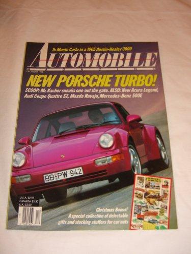 (Automobile Magazine V. 5 #9 December 1990 New Porsche Turbo)