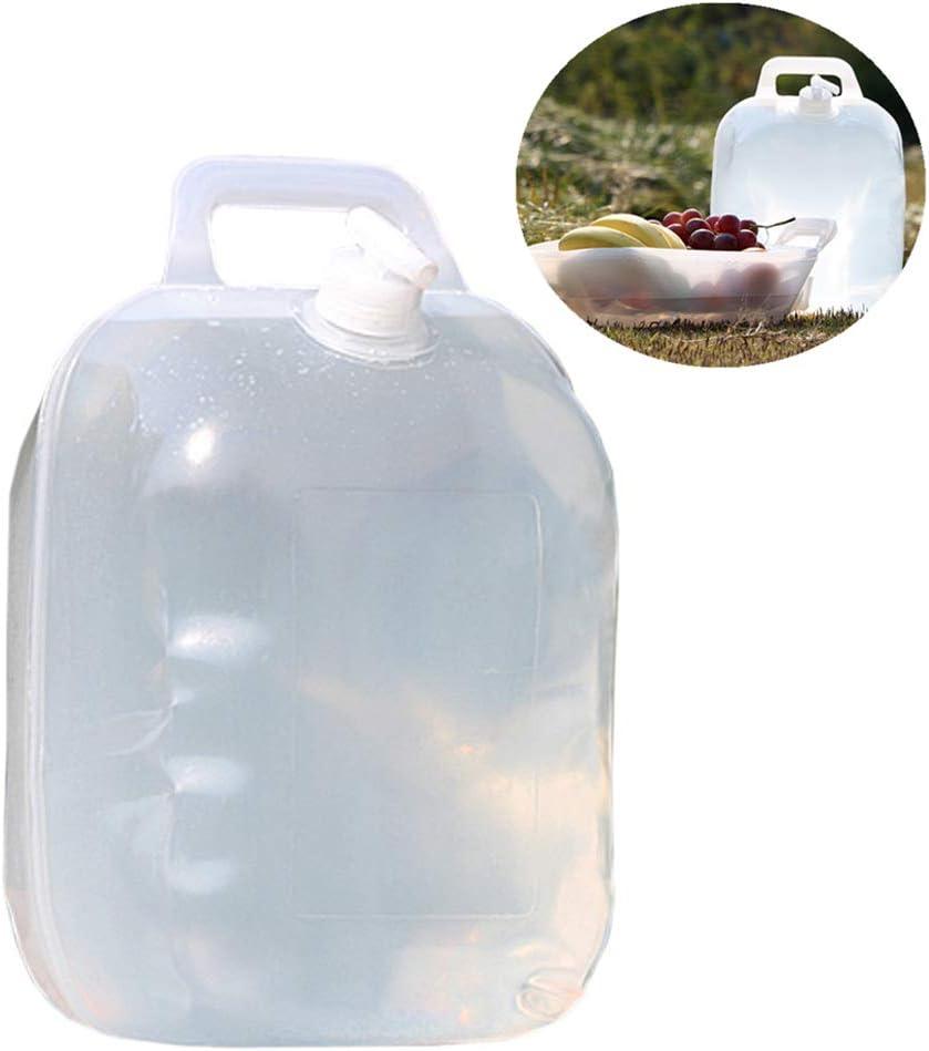 BENPAO Multifunción 10L Plegable contenedor de Agua Portable Plegable Agua portadores Fruta Cesta Agua Jarra Cubo Almacenamiento para Acampar Senderismo al Aire Libre Activiteis Viajes