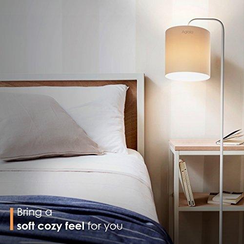 Aglaia LED Stehlampe mit Hängelampenschirm