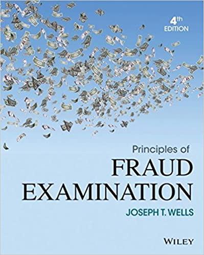 Principles of fraud examination joseph t wells 9781118582886 principles of fraud examination 4th edition fandeluxe Gallery