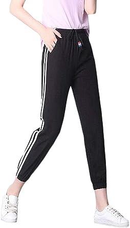 dahuo - Pantalones de chándal para Mujer, Casuales, de algodón ...