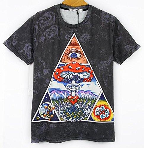 DJDesigns Custom 3D Printed T-Shirts in Wild Designs!