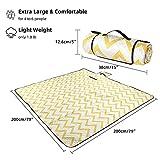 """Lahawaha Picnic Blankets, 80"""" x 80"""" Extra Large"""