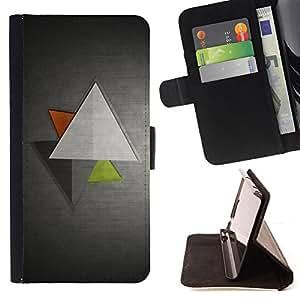 Jordan Colourful Shop - grey metallic gray brushed aluminum For Apple Iphone 6 - Leather Case Absorci???¡¯???€????€????????&ce