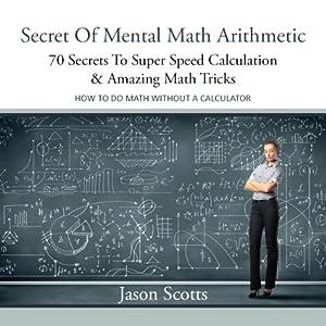 Secret of Mental Math Arithmetic Audiobook