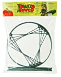 Hydrofarm GCTC 4 foot Tomato Cage - Modular Tomato Tower with 4 Support Rings