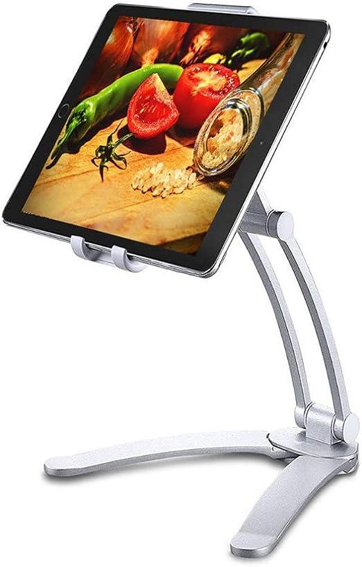 Soporte de mesa para tablet y smartphone, 2 en 1, incluye soporte ...