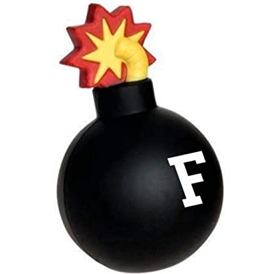 Telesca Funny F Bomb F$#% Gag Office Prank Stress Ball: Toys & Games