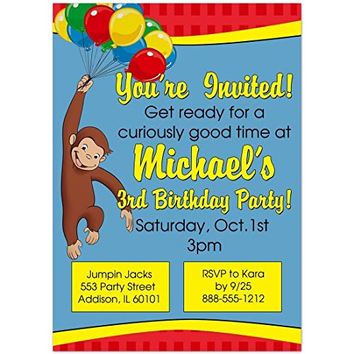 Curious George Birthday Party -