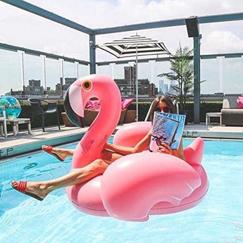Amazon.com: Veslagy 150CM 60 Inch Giant Inflatable Flamingo Pool Float Pink Ride-On Swimming Ring Adults Children Water Holiday Party Toys Piscina kids: ...