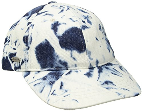 - Steve Madden Women's Acid Wash Denim Baseball Cap, Blue, One Size
