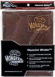 Monster Binder - 9 Pocket Trading Card Album - Dragonscale Bronze - Holds 360 Yugioh, Magic, and Pokemon Cards