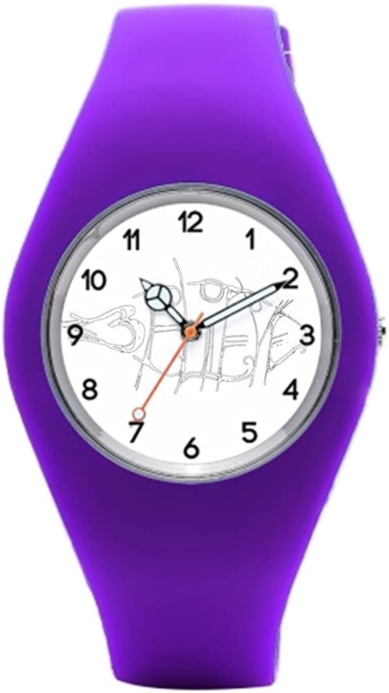 allneed You Believe diseño de Tatuaje Silicona Deporte Relojes ...