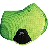 Woof Wear Close Contact Saddle Pad Full Size Lime