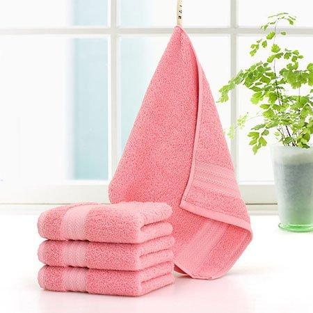 mmynl Pure algodón Waffle Túnica adultos hombres y mujeres toallas de cara de Home Algodón para limpiar la cara la rosa 75 x 35 cm: Amazon.es: Hogar