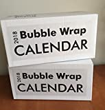 Large 2018 Bubble Wrap Poster Sized Wall Calendar