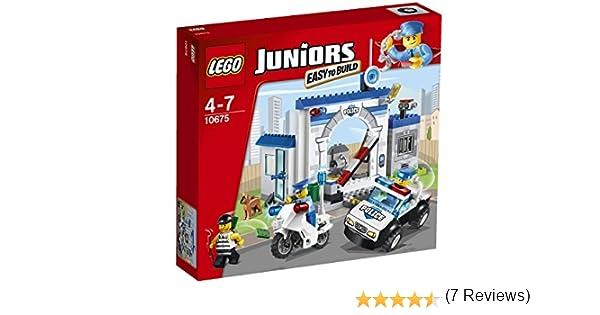 LEGO Juniors - Policía: la Gran huida (6061896): Amazon.es ...