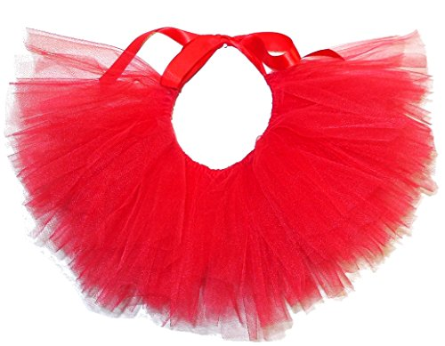 PAWPATU Tulle Tutu for Dogs or Cats, Small, -