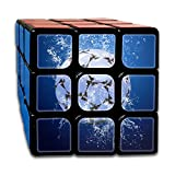 AVABAODAN Ice Soccer Rubik's Cube 3D Printed 3x3x3 Magic Square Puzzles Game Portable Toys-Anti Stress For Anti-anxiety Adults Kids