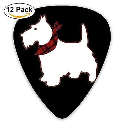 Scottie - Púas para guitarra de perro con forma de 351 para guitarra clásica de celuloide y baquelita, el mejor ...