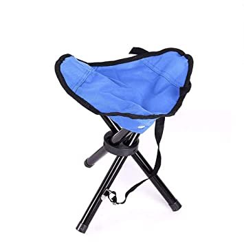 Superb Amazon Com Folding Tripod Stool Portable Small 3 Legged Onthecornerstone Fun Painted Chair Ideas Images Onthecornerstoneorg