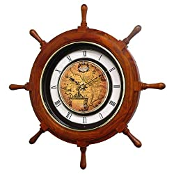 Rhythm Clocks Voyager Classic Magic Motion Clock