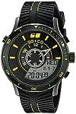 SO & CO New York Men's 5035.6 Monticello Analog-Digital Display Quartz Black Watch