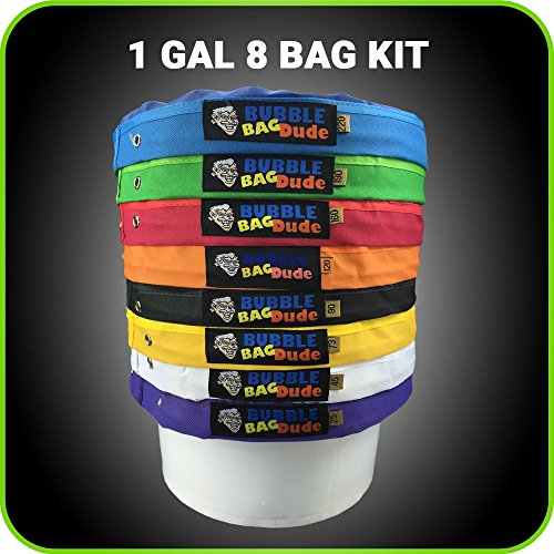 BUBBLEBAGDUDE Gallon Bag Set Extractor product image
