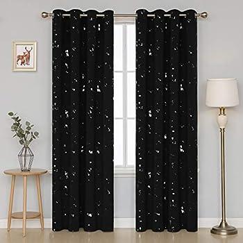 Filigree Home & Garden Curtains, Drapes & Valances Glitz Sequins Diamante Sheer Voile Curtain Panels With Grommet Top