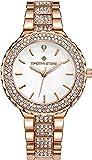 """Timothy Stone Womens Watches Swarovski Crystal Dial and Bezel """"Gala"""" Quartz Wrist Watch"""