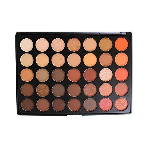 Morphe Brushes 350 - 35 Color Nature Glow Eyeshadow Palette by Morphe Brushes (Best Morphe Palette For Brown Eyes)