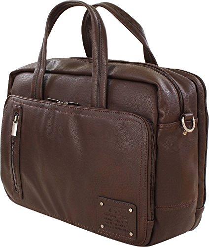 d&n Business Line Maletín 40 cm compartimento portátil marrón marrón