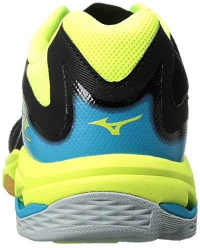 Volleyball Shoe Lighting Wave Women's Volleyball Safety Shoes Yellow Mizuno Womens Black Z3 8xCxId