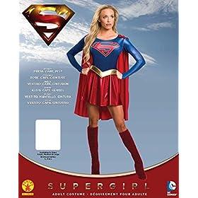 Rubie's Costume Women's Supergirl Tv Show Costume Dress
