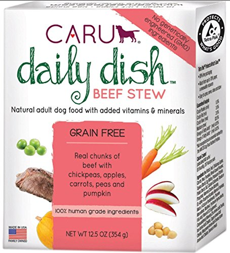 Caru Daily Dish Beef Stew Case (12 Pack - 12.5 Ounce ea)