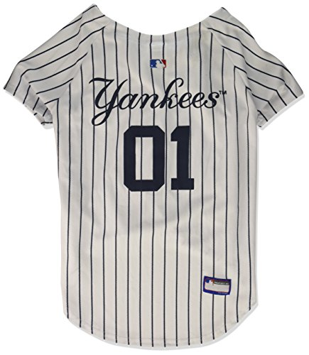 MLB New York Yankees Dog Jersey, XX-Large. - Pro Team Color Baseball Outfit