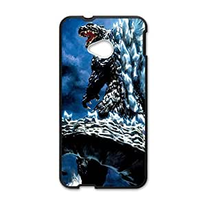 Happy Enormous Gojirasaurus Cell Phone Case for HTC One M7
