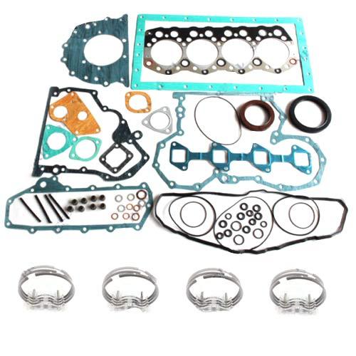 S4S Piston Ring/&Engine Gasket Kit for F18B Clark forklift Mitsubishi Engine Excavator Spare Parts