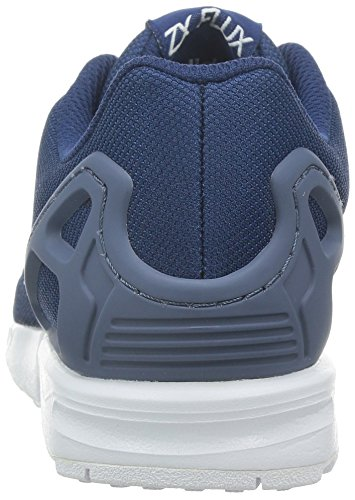 White Adidas Flux Baskets Zx ftwr Enfant St Basses Mixte St oxford Ink Bleu Blue fade xrHx6wq
